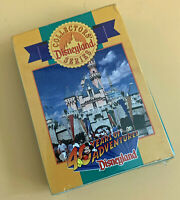 Disney Collector Card Pack for Press for Disneyland's 40th Anniversary 1995