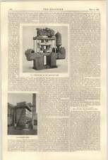 1900 Willesden Electric Supply Works Cooling Tower Circulating Pump