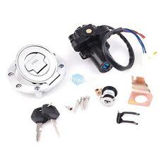 Ignition Switch Lock Fuel Gas Cap Key Set For YZF R1 R6 R6S FZ6 FJR1300 2004-12