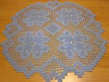 Tischdecken Hardanger Handarbeits Rund Decken ca. 60x60cm.