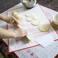 Silicone Baking Mat With Scale Rolling Dough Pad Non Stick Kitchen Gadgets