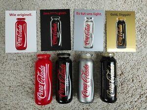 4 x True Fruits Pina Colada Limited Edition mit Karte Coca Cola Flasche NEU VOLL