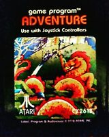 Adventure Atari Video Game CX2613 Seen in Ready Player One First Easter Egg