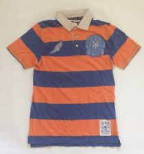 BNWT Zoo York Men's Polo Shirt Sz M new Orange Blue