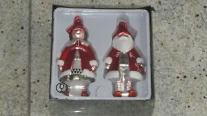Ikea Snömys Weihnachtsmann & Weihnachtsfrau Baumdeko Weihnachten  *NEU*