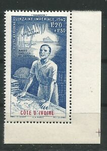 COTE D'IVOIRE 1942 PA n° 9 neuf ★★ Luxe /MNH BDF