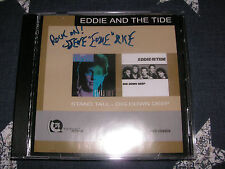 EDDIE AND THE TIDE - Stand Tall / Dig Down Deep RARE CD!! SIGNED!!!! *NEAR MINT*