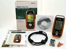 Magellan Triton 1500 Hiking Gps Set 3D Topo Map geocache hunting waterproof Atv