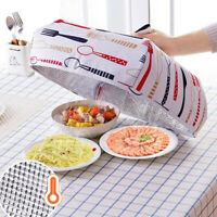 EE_ MULTIFUNCTIONAL DUST DISHES FOOD COVER HEAT PRESERVATION FOLDABLE INSULATION