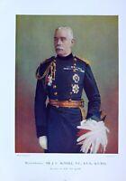 1900 Boer Guerra Estampado Mayor General Sir Mcneil Equerry A The Queen