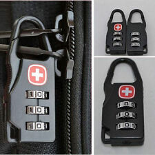 High 3 Digit Mini code Metal Combination Travel Luggage Lock Padlock Password DE