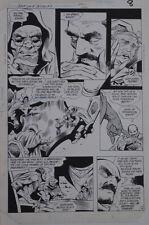 "GENE COLAN / BOB McLEOD original art, JEMM SON of SATURN #8 pg 8, 11""x 16"",1985"