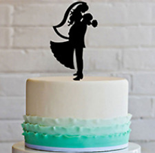 Hold Me, Love Me Wedding Cake Topper