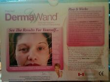 DERMA WAND Look Years Younger With Thermal Energy And Enriched Oxygen -Used Once