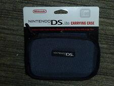 Nintendo DS Lite Console Ufficiale VALIGETTA! Nuovo di Zecca vero titolare Blu Navy