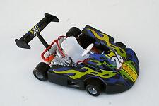 """GO-KART Tony-Kart, Tech Kart by X-Concepts, die-cast 1:12 scale 6"""" L, Black-26"""