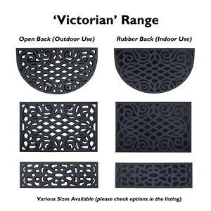 Stylish ECO Door Mats Victorian Range Welcome Floor Mats for Indoor Outdoor Use