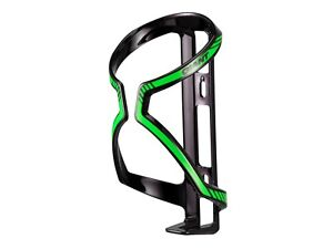 Giant Airway Bike Bottle Cage - Black/Green - Lightweight - Sports Hydration