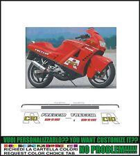 kit adesivi stickers compatibili  freccia c 10 r rossa 1988