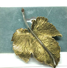 Pin Leaf Brooch~Accent