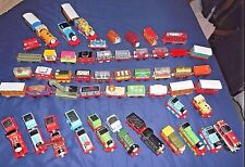 HUGE LOT OF 60 USED THOMAS THE TANK ENGINE ASSORTED ENGINES AND CARS