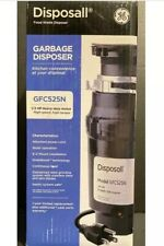 GE Disposall 1/2 HP Continuous Feed Food Waste Disposer Disposal GFC525N