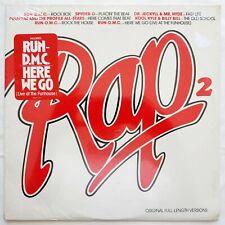 1985 - VARIOUS - RAP 2 - PROFILE RECORDS SEALED ORIGINAL - HERE WE GO RUN-D.M.C.