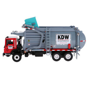 1X 1:24 Alloy Construction Toy Dump Garbage Recycling Transport Truck Model Toy