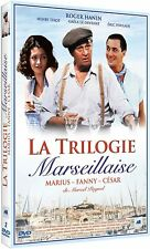 LA TRILOGIE MARSEILLAISE Marius - Fanny - César COFFRET DVD NEUF SOUS BLISTER