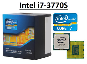 Intel Core i7-3770S SR0PN ''Ivy Bridge'' 4 Core,LGA1155, Clock 3.1 - 3.9GHz CPU