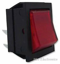 ARCOLECTRIC SWITCHES   C1353AANAB   SWITCH, ROCKER, DPST, HI INRUSH, RED