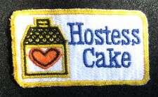 Hostess Cake Embroidered Patch Cupcake Twinkies Snow Ball Dessert 3 1/2 x 1 7/8