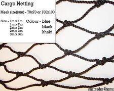 Cargo Netting Heavy Duty 4mm Cord Cover Protection Strong Net Luggage Car Truck
