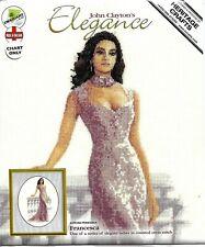 """CROSS STITCH KIT """"FRANCESCA""""  John Clayton's Elegance by Heritage Crafts"""