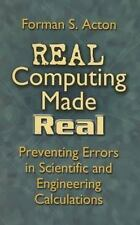 Dover Books on Computer Science: Real Computing Made Real : Preventing Errors...
