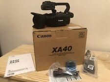 Canon XA40 Professional UHD 4K Camcorder - NEW