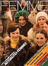 Femme Pratique n°139 mars 1975 cuisine a l'electricite service apres vente
