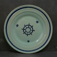 Vintage Nautical Plate Pacific Pottery California