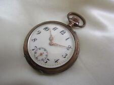 Offene Taschenuhr aus Silber 800