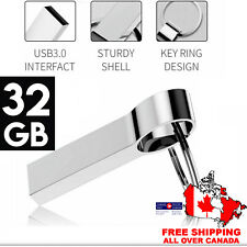 Water Proof USB 3.0 Flash Drive 32GB Pen Drive Memory Stick with Key-chain