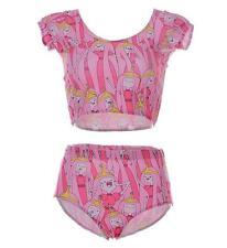 Woman Swimsuit 2 piece set bikiniset Adventure Time Princess printed swimwear M