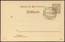Wurttemberg 1919 Stationery Cover Special Handstamp #C14525