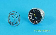 Minolta SRT 101  Belichtungszeiten das Rad  01362