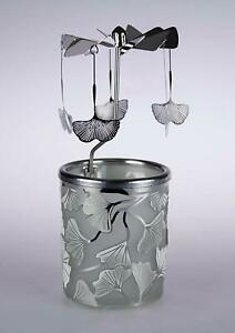 Tea Light Spinning Carousel - Maidenhair Tree -Gift/Home Decoration