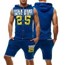 Abbiglimento sportivo da uomo in misto cotone fitness taglia M