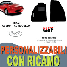 TAPPETI AUTO SU MISURA PER ALFA ROMEO GTV SPIDER MOQUETTE + GOMMA + RICAMO EASY