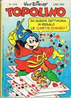 TOPOLINO LIBRETTO - N.1479 - 1° APR. 1984 - WALT DISNEY