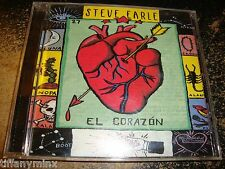 STEVE EARLE cd EL CORAZON free US shipping