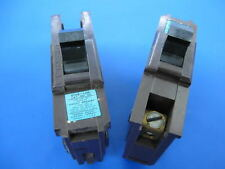 """Lot of 2 - 30 Amp Federal Pacific Fpe Stab-Lok 30A Type Na 1"""" Breakers"""