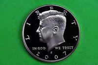2007-S GEM Proof  Deep Cameo (Kennedy) US Half Dollar Coin (c/n clad)